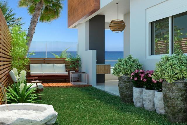 KS - Apartamento com vista para o mar dos Ingleses com 1 dormitório - Foto 3