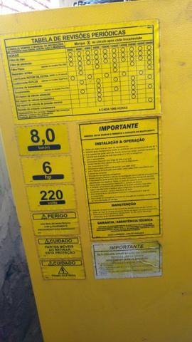 Compressor Parafuso Metalplan 6 Hp - Foto 3