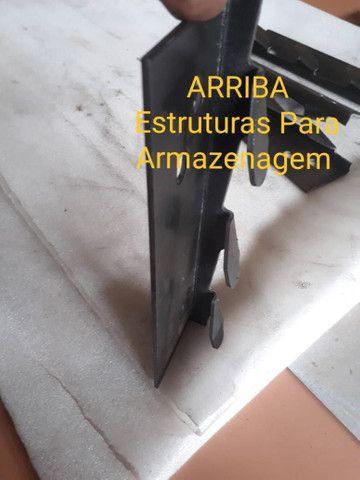 Garras para Longarinas Porta Palete  - Foto 6