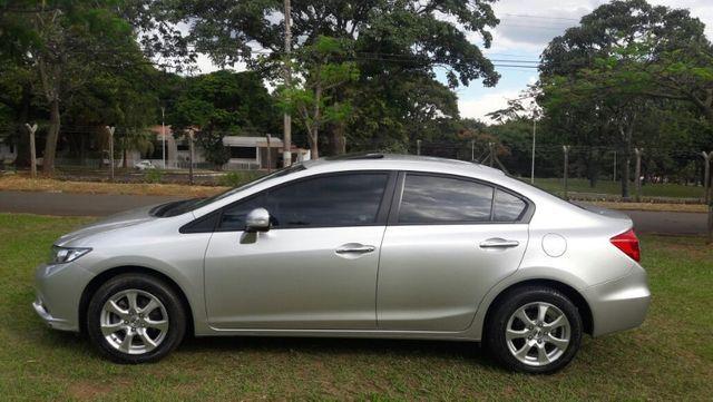 Honda Civic EXS Automatico Top de Linha + Teto Solar 2012 - Foto 5