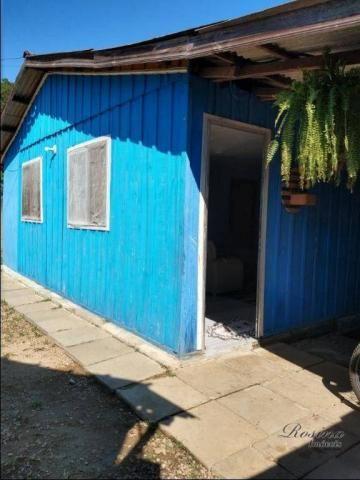 Casa térrea de madeira com 3 quartos - Reta da América - Morretes/PR - Foto 9