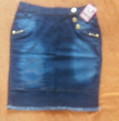 3Saia jeans secretaria moda evangélica - Foto 2