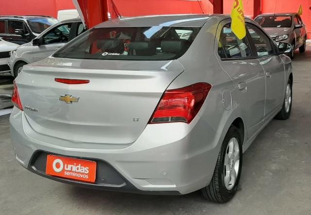 Prisma Lt 1.4 2019 Prata 30mil kms - Financia sem entrada - aceita carro na troca - Foto 16