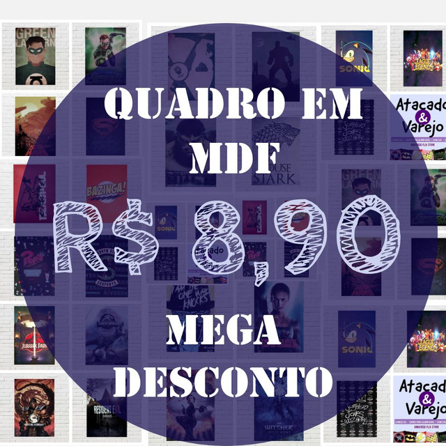 *Mega Liquidação* Camisetas, Capas para Almofadas, Quadros e Canecas * - Foto 3