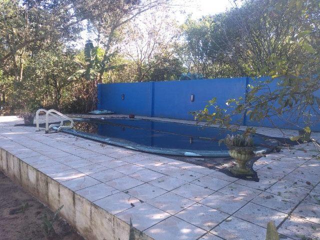 Velleda oferece sítio 3200 m², completo, casa, galpão, piscina, ac troca - Foto 11