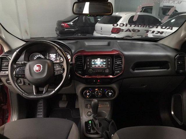 Fiat-Toro freedom 1.8 aut+Gnv Financiamos sem comprovação de renda - Foto 5