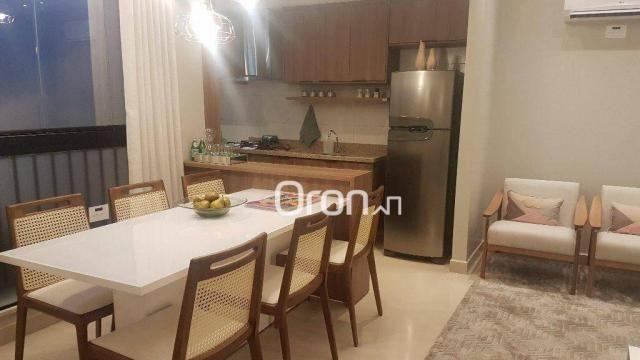 Apartamento com 2 dormitórios à venda, 62 m² por R$ 278.000,00 - Aeroviário - Goiânia/GO - Foto 2