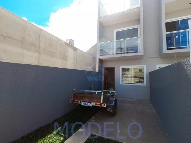Sobrado à venda com 2 quartos, 72,99 m², terraço, próximo ao Santuário da Divina Misericór