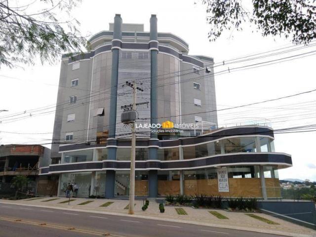 Apartamento com 1 dormitório para alugar, 46 m² por R$ 1.000,00/mês - São Cristóvão - Laje