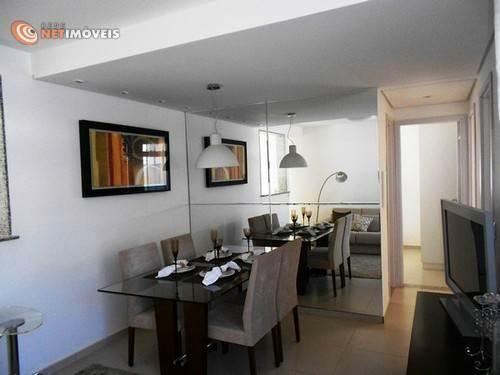 Apartamento à venda com 3 dormitórios em Conjunto califórnia, Belo horizonte cod:577949 - Foto 5