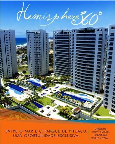 Apartamento 4 quartos frente do Mar de Patamares . Oportunidade Hemisphere 360 - Foto 11