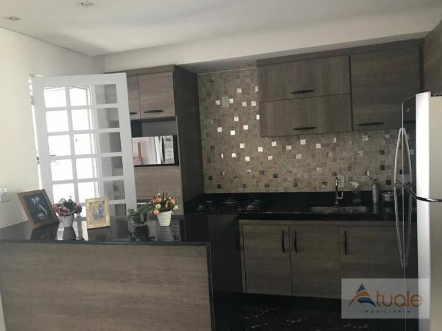 Casa com 2 dormitórios à venda, 75 m² por R$ 310.000 - Villa Flora Hortolandia - Hortolând - Foto 12