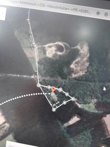 Urgente!!!Torro terreno proximo do asfalto br 116 1km - Foto 12
