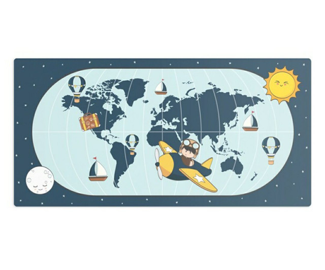 Kit Quarto Menino viajante