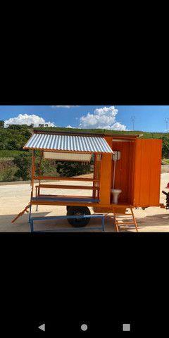 Container refeitório com dois banheiros  - Foto 3