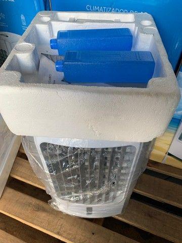 Climatizador de Ar Britânia 3em1 Resfria,Umidifica e Ventila 127v (novo) - Foto 2