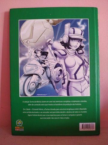 2 Livros da Coleção Turma da Mônica Jovem em Cores - Foto 4