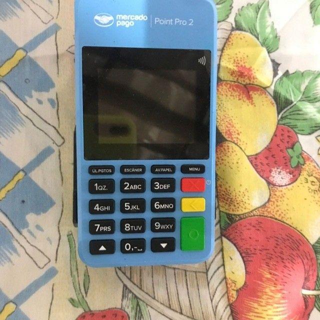 Máquina de cartão, mercado pago, point pró 2 - Foto 2