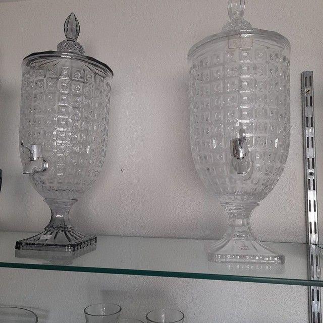 Suqueiras de Cristal