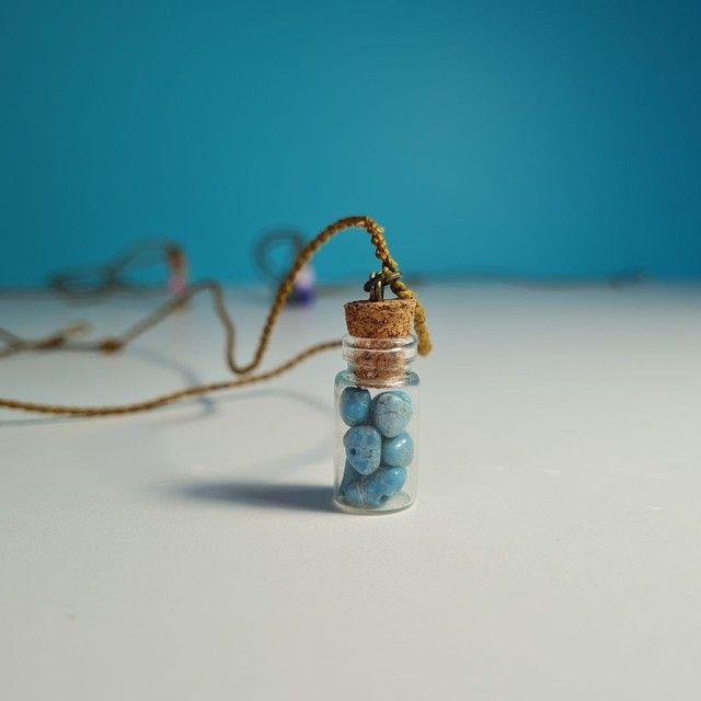 Kit 3 colares hippie artesanais - Foto 2
