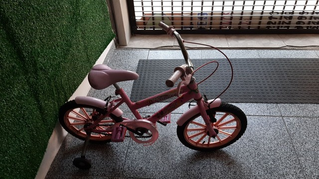 Bicicleta da barbier aro 14 só 250 - Foto 2