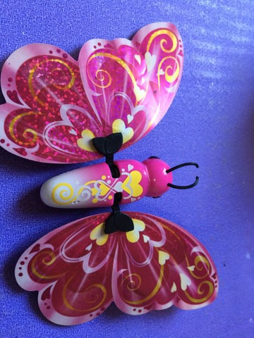 Barbie Janessa Tumbelina  borboleta  pets - Foto 6