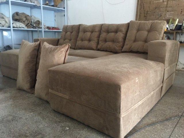 Sofá de luxo diretamente da Fábrica  - Foto 5