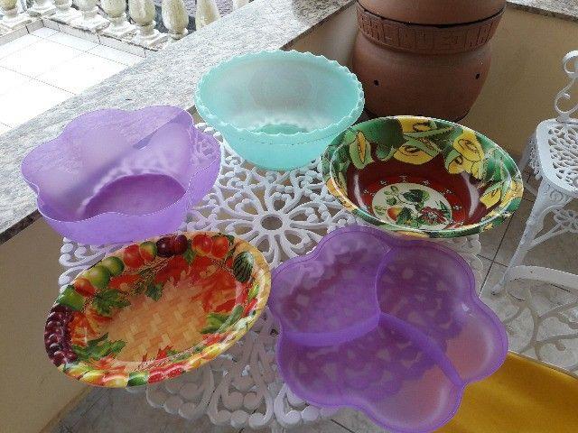 Conjunto de potes tupperware - Foto 3