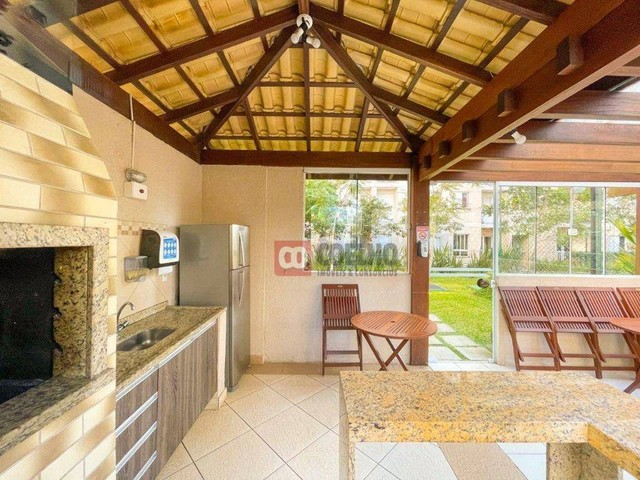 Apartamento Luxuoso Totalmente Mobiliado, 2 Quartos com Suíte em Condomínio Clube - Bairro - Foto 18