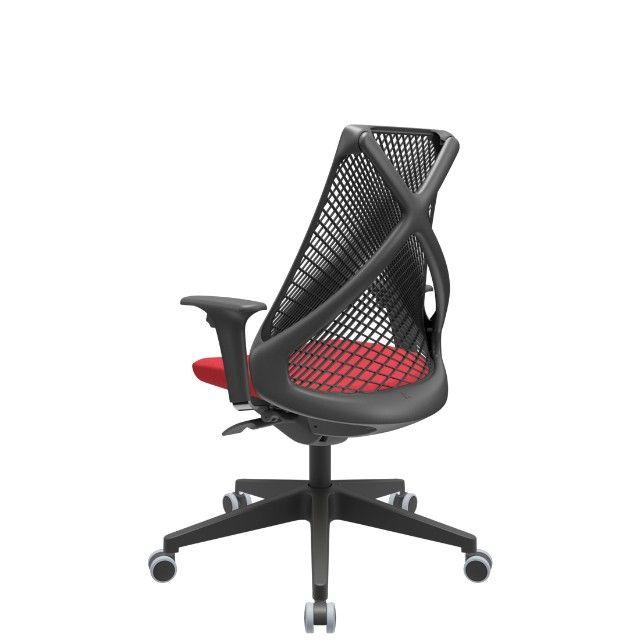 Cadeira Bix plaxmetal - Presidente top!!! - Foto 4