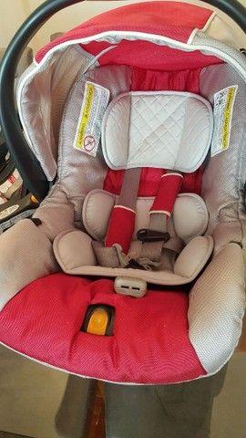 Bebê conforto Chicco keyfit com base  - Foto 4
