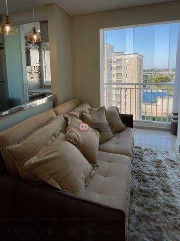 Apartamento Luxuoso Totalmente Mobiliado, 2 Quartos com Suíte em Condomínio Clube - Bairro - Foto 6