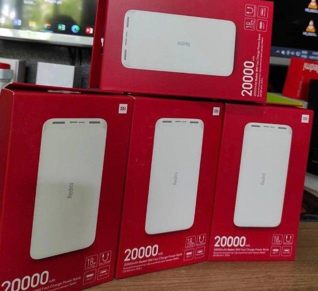 Carregador Portátil 20000mah Quick Charge 3.0 Turbo - Xiaomi - Foto 2
