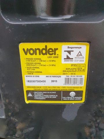 Lavadora de Alta Pressão Vonder LAV 1800 2000 Libras 1800W 220V Preto e Amarelo - Foto 4