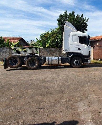 Scania 420 R124 2006 e Carreta Guerra 2001 - Foto 7