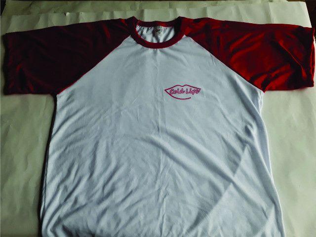 Camiseta Raglan Personalizada - Foto 2