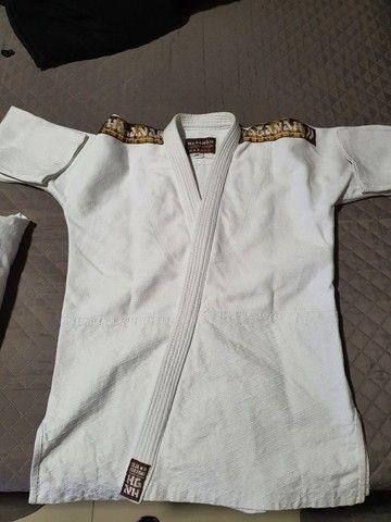 Kimono Judô/Jiujitsu HAGANAH A1 Branco