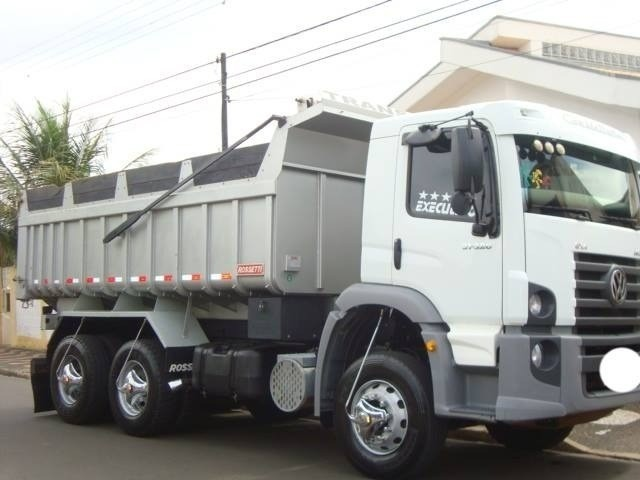 Caminhão Vw 31-320 6X4 Caçamba 2010 - Foto 2