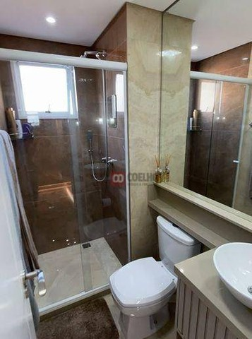 Apartamento Luxuoso Totalmente Mobiliado, 2 Quartos com Suíte em Condomínio Clube - Bairro - Foto 10