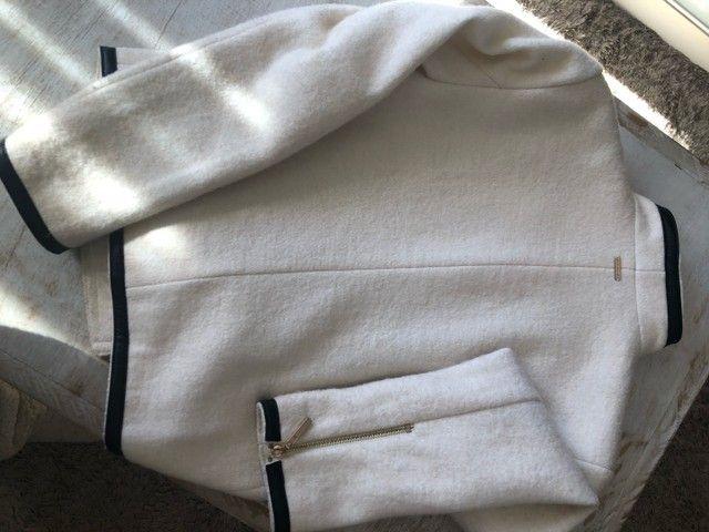 Casaco de lã Le Lis  Blanc  - Foto 3