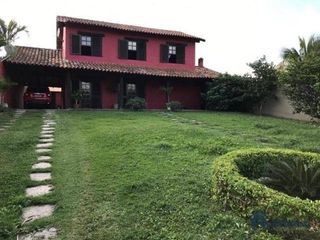 Duplex com 04 quartos  sendo 01 edícula, árvores frutíferas, vista para a lagoa. - Foto 11