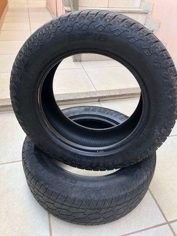 Vendo 02 pneus 255/60R18