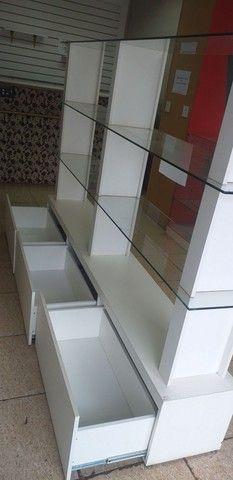 Prateleira de vidro com 3 gavetas  - Foto 2