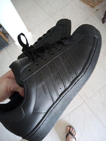 Tênis Couro adidas Originals Superstar  - Foto 6