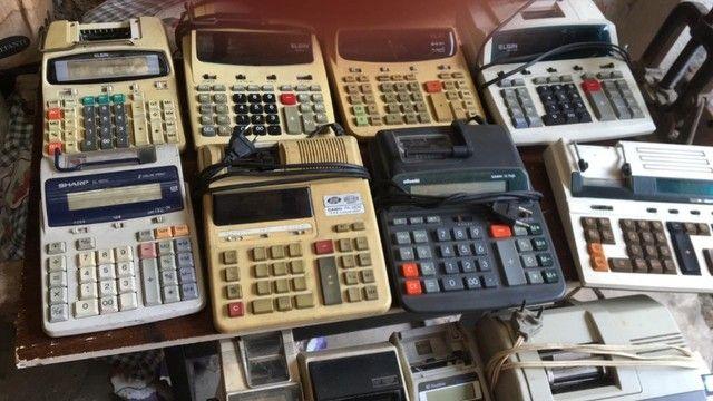 Vendo lote de calculadoras antigas - Foto 2