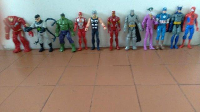 Coleção de bonecos da Marvel fone * - Foto 2