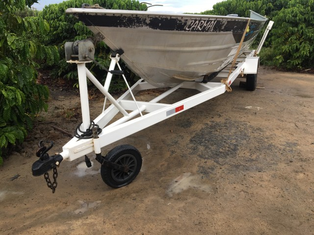 Barco com motor 40HP  - Foto 4