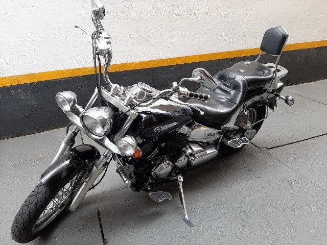 Yamaha drag star  2005 com 65.400KM - Foto 2