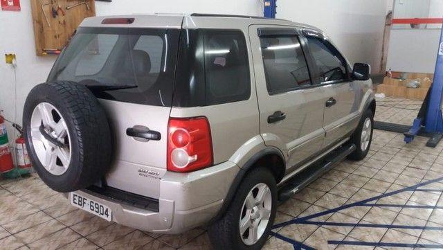 Vendo Ecosport XLT 2008 completa super conservada, Linda IPVA pago licenciado 2021 - Foto 4
