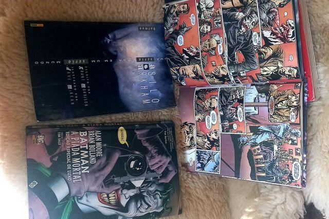 Coleção revistas quadrinhos dc Batmann e Coringa - Foto 2